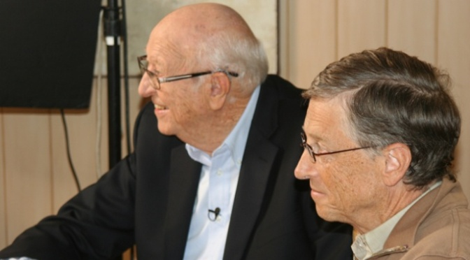 Fathers' Day with Bill Gates' father