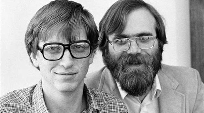 Here's Bill Gates' partner BEFORE Microsoft existed