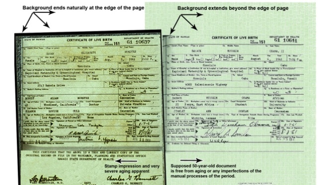 Obama's birth certificate: Curiouser and Curiouser