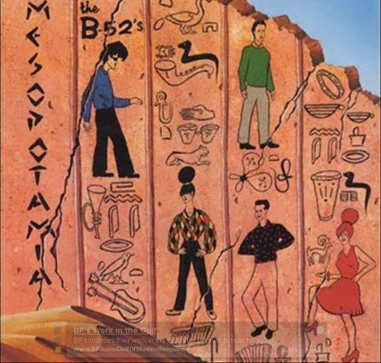 B52s Mesopotamia cover art