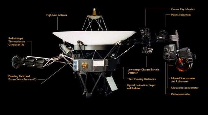 Voyager 1 is, like, far out.