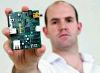 Raspberry Pi and Eben Upton