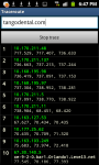 Traceroute screenshot