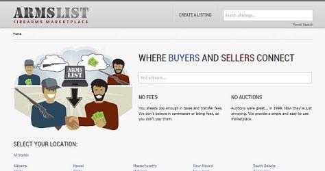 armslist.com home page