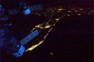 Florida from ISS