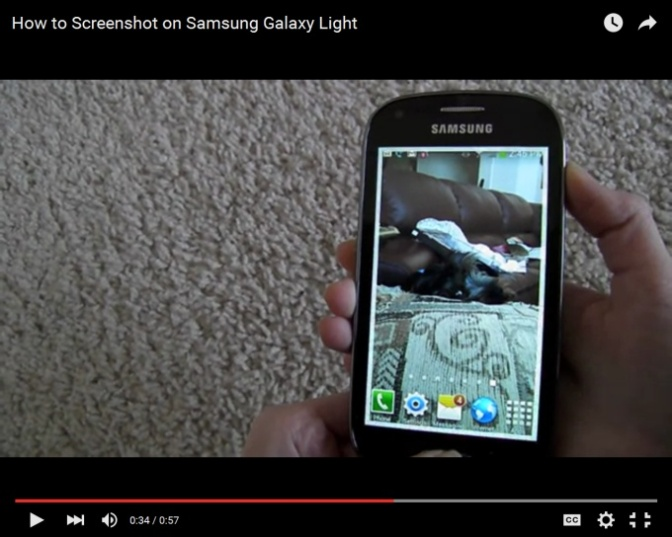 Capture Screenshots on Samsung Exhibit II 4G T679 Android phone