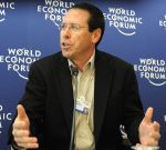 Randall Stephenson, CEO of AT&T, at the 2008 World Economic Forum. photo: Robert Scoble