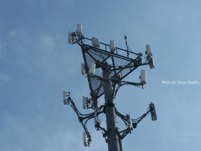 Where are T-Mobile's cell sites?