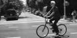 David Byrne on folding bike