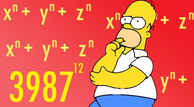 Math and The Simpsons