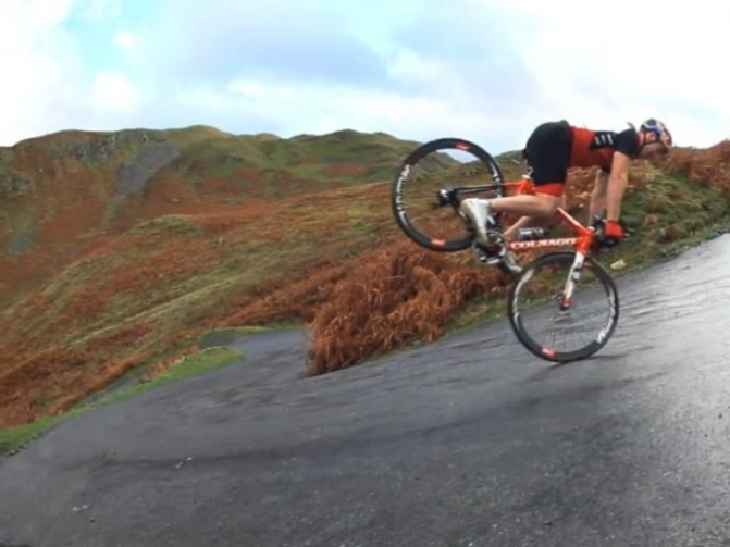 Pushing the limits of road bikes