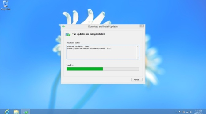 Updating Windows 8 to 8.1