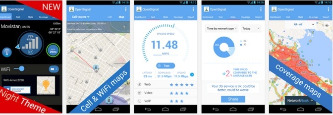 OpenSignal app for Android