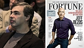 Larry Page and Jeff Bezos