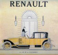 1914 Renault print advertisement