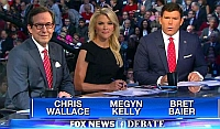 Foxnews Republican debate commentators