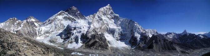 Mt Everest climbing history