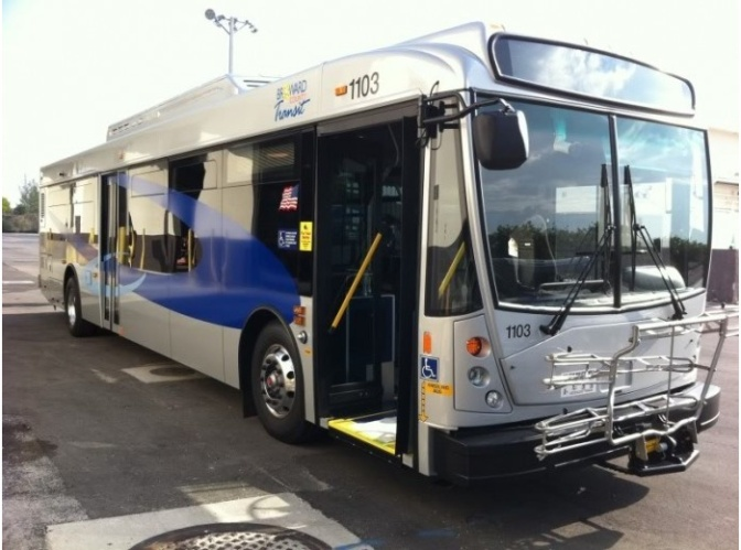 Smartphones will track bus movements