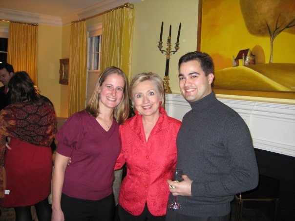 Bryan Pagliano, girlfriednd, and Hillary Clinton
